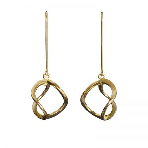 product 3DNA earrings S gold