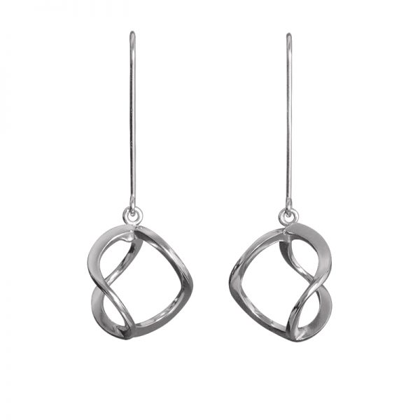 product 3DNA earrings S silver