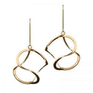 product 3DNA earrings XL gold