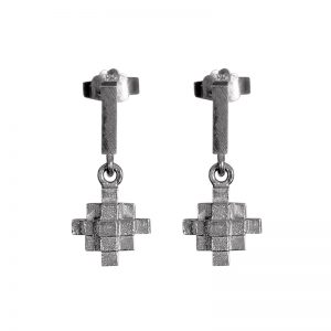product Andes Cross earrings silver