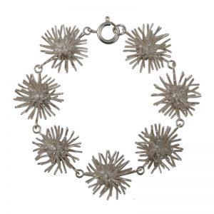 product Pompon bracelet silver