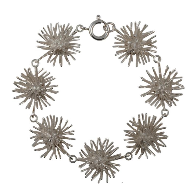 product Pompon bracelets silver