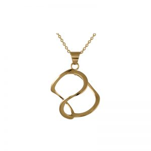 product 3DNA necklace L gold