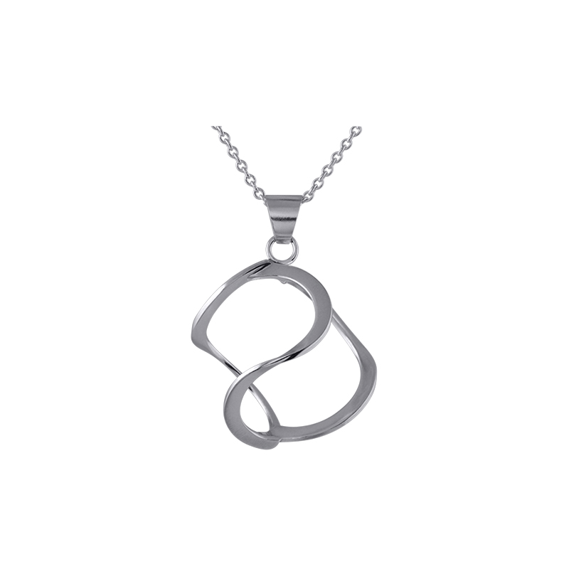 product 3DNA pendant necklaces L silver