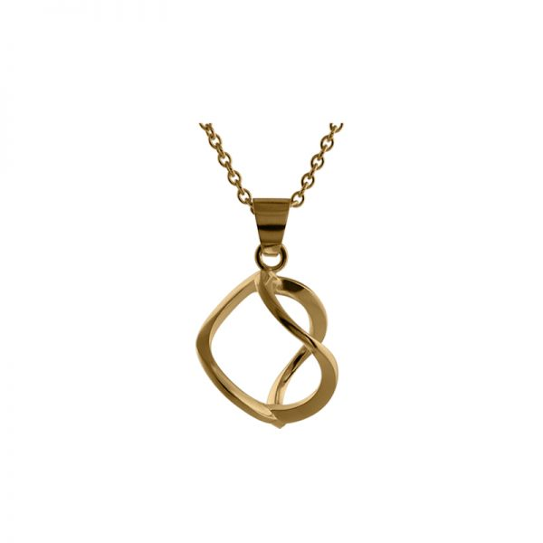 product 3DNA necklace S gold