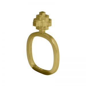 product Andes Cross ring gold