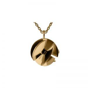 product Fan Sphere pendant necklaces S gold