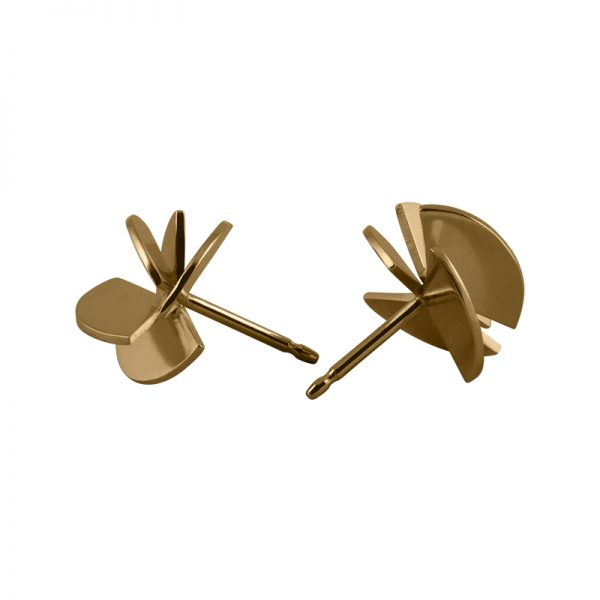 product Fan Sphere stud earrings S gold