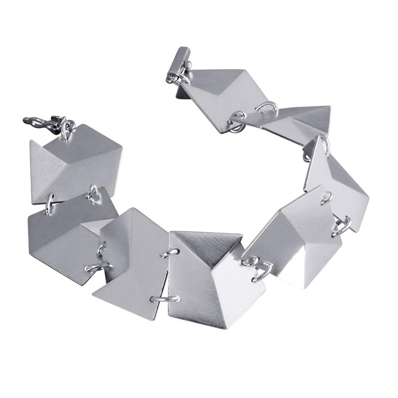 product Flake bracelets M silver