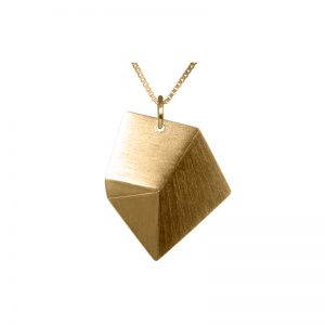 product Flake necklace M gold