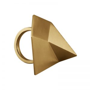 product Flake ring gold
