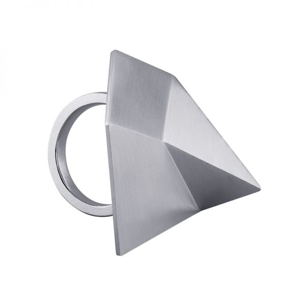 product Flake ring silver