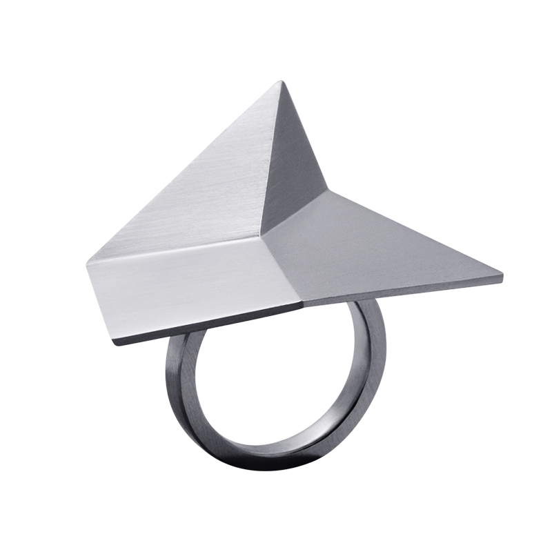 product Flake rings silver