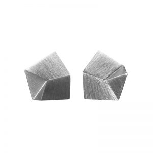 product Flake stud earrings S silver