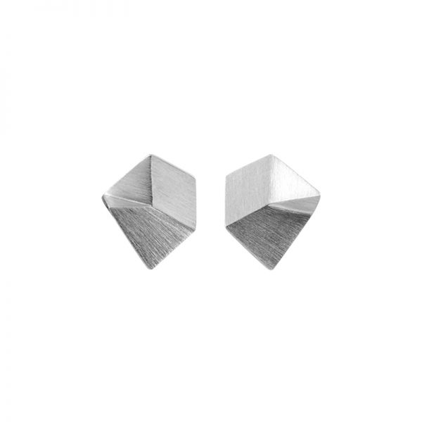 product Flake stud earrings XS silver