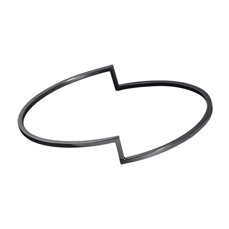 product Fold bracelets oxidized silver