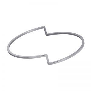 product Fold bracelet silver