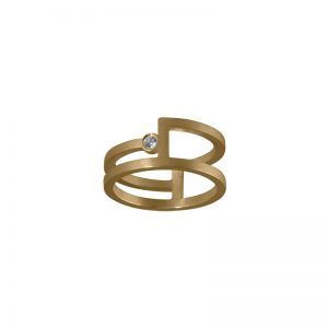 product Fold ring gold