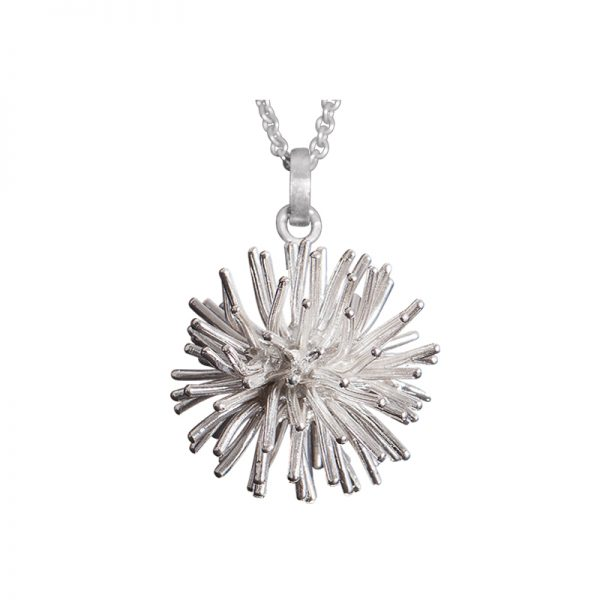 product Pompon pendant necklaces silver