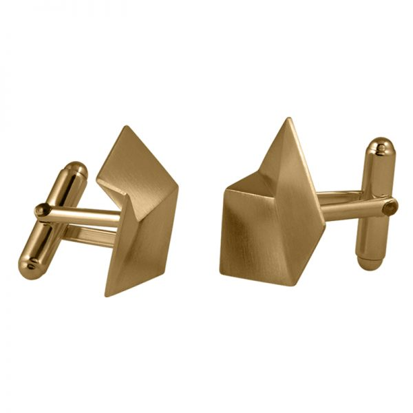 product Flake cufflinks M gold