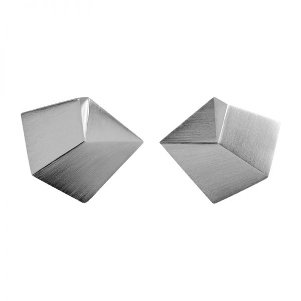 product Flake cufflinks M silver