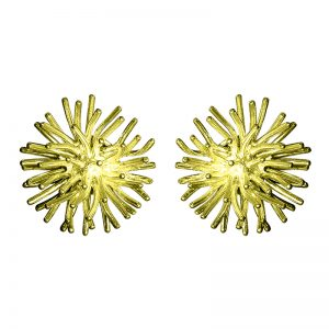 product Pompon cufflinks gold