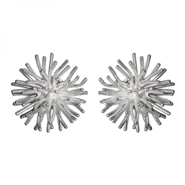 product Pompon cufflinks silver