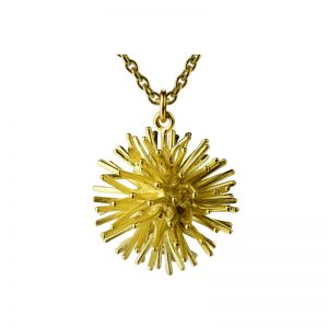 product Pompon pendant necklace gold