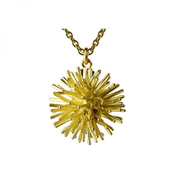 product Pompon pendant necklace gold