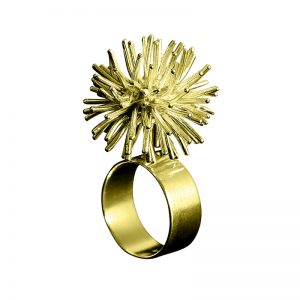 product Pompon ring gold