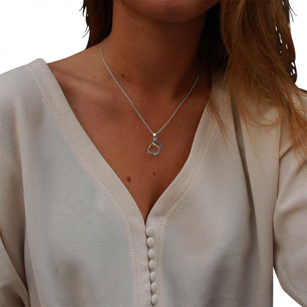 3dna necklace S silver