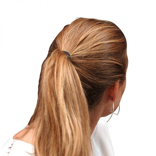 product Fold earrings silver