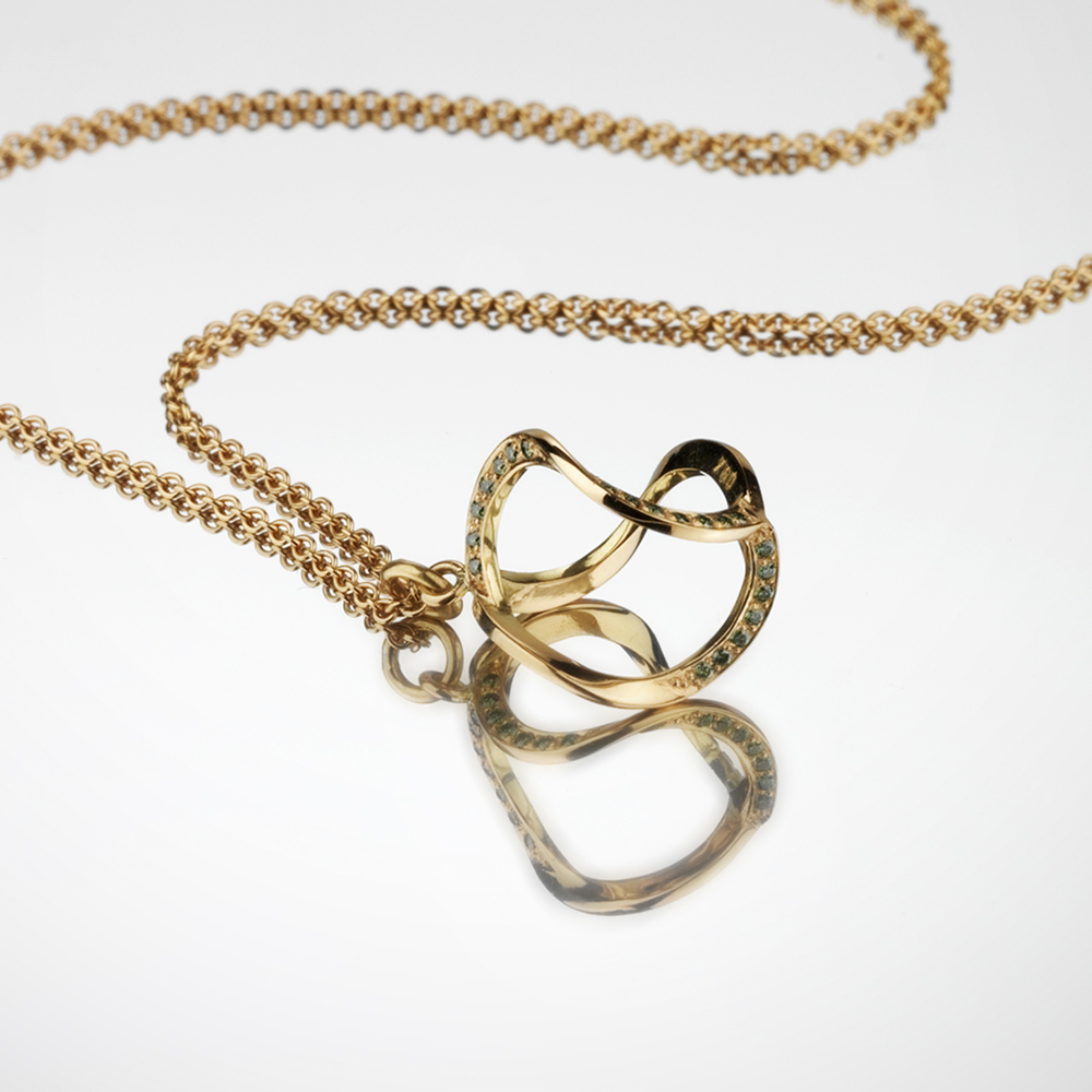 special editions 3dna necklace gold