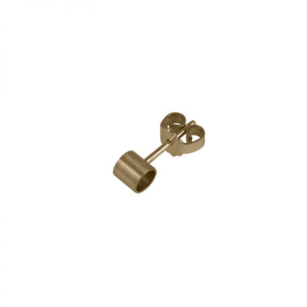 product tube earring 1 gold