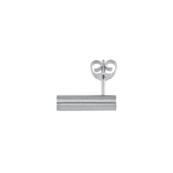 product tube earring 3 silver