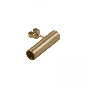 product tube earring 4 gold