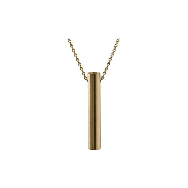 product tube necklace 2 gold