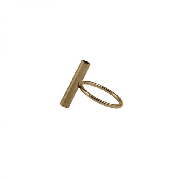 product tube ring 1 gold