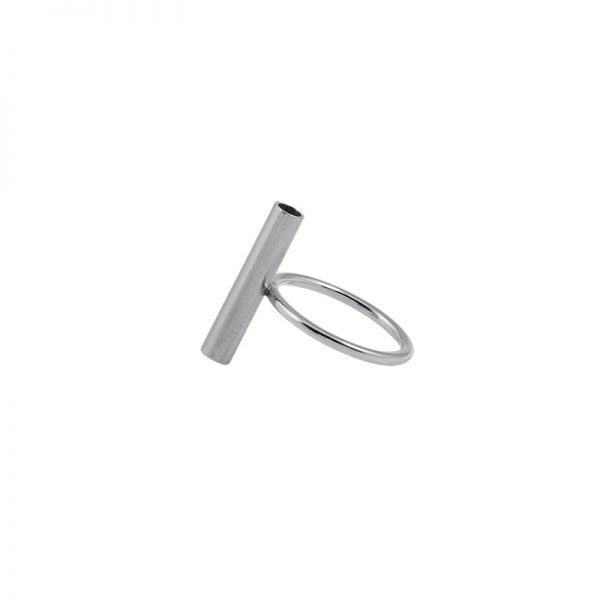 product tube ring 1 silver
