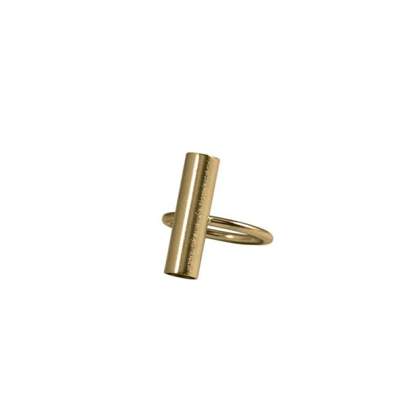 product tube ring 2 gold