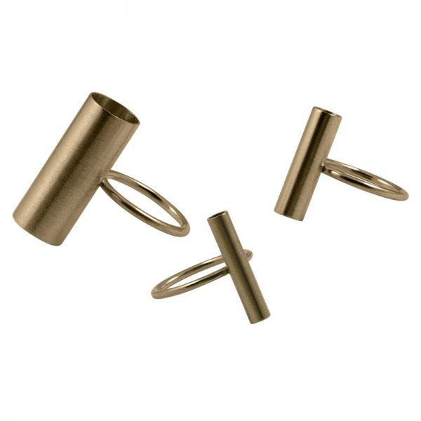 product tube rings gold